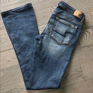 American eagle skinny kick jeans size 10